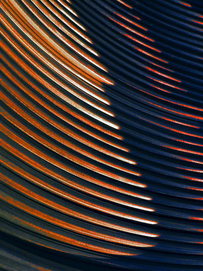 Russia, aluminum, aluminum wire, wire rod, nonferrous metallurgy Russia Russia россия Aluminum Aluminum Wire Backgrounds Close-up Corrugated Iron Curve Day Indoors  LINE No People Nonferrous Metallurgy Pattern Striped Technology Textured  Wire Rod