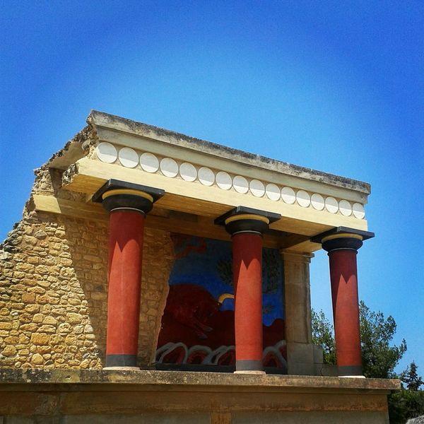 Knossos Ancient Architecture Ancient Temple Ancient Civilization Knossos Crete Hrakleio Crete Greece, Crete