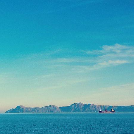 Cielo Mar Montanas Barco Azul Respira Calma Sky Sea Mountains Boat Blue Mallorca Breathe Calm