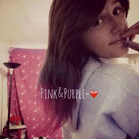 Loving My Pink&Purple Hair❤