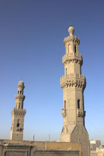 Cairo Egypt Islam Islamic Islamic Architecture Arch Architecture Mosque Architectural Detail Dome Minerat Tower Towers Sky Old Cairo Islamic Cairo Old Ancient