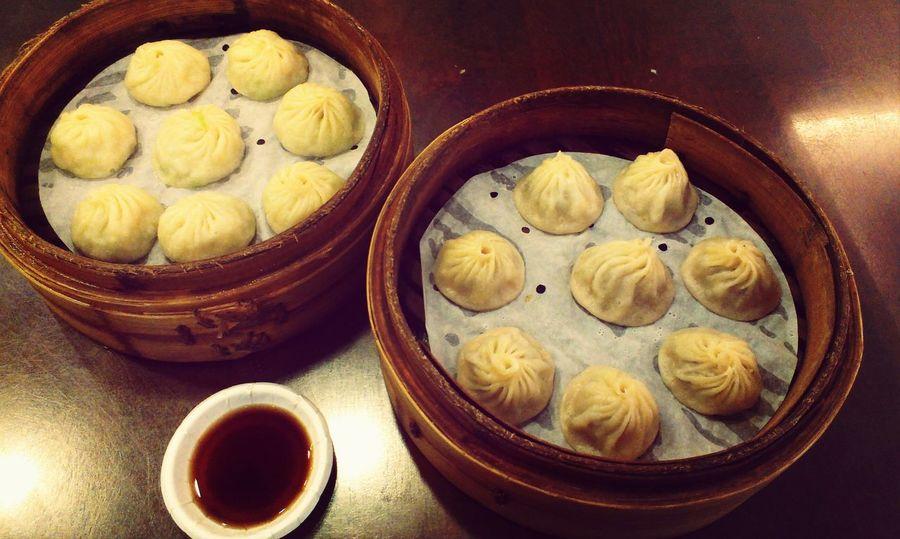 神好吃! Lunch Juicy Pork Dumplings Dumplings Delicious