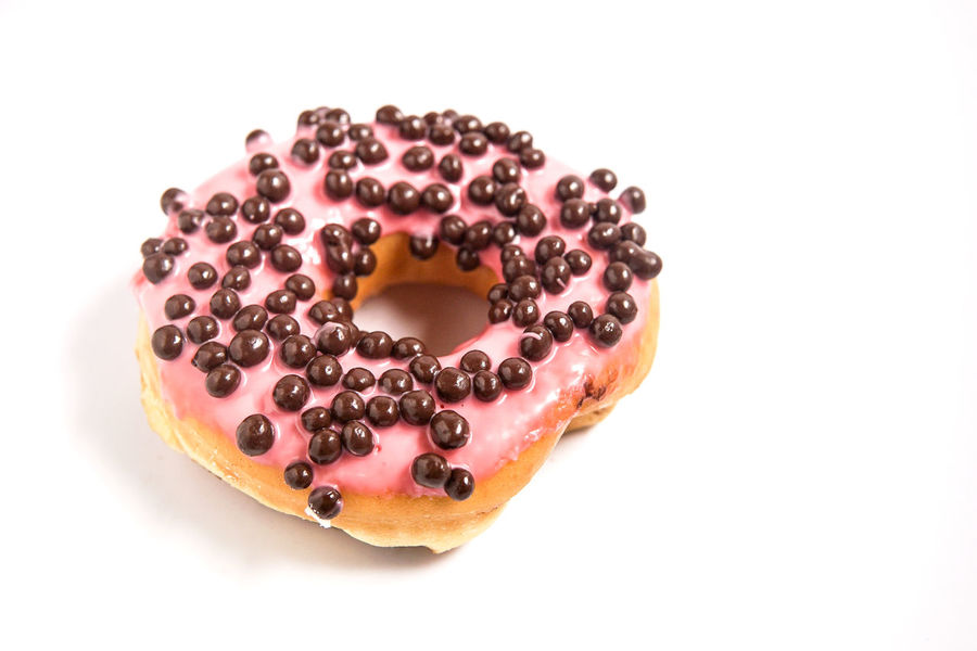 Bakery Cafe Cafe Time Donut Donuts Food Freshness Junk Food Pink Color Pink Donut Sweet Food