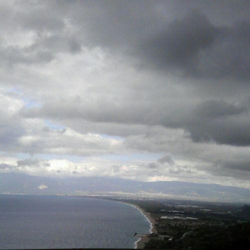 A3 vista Costa tirrenica