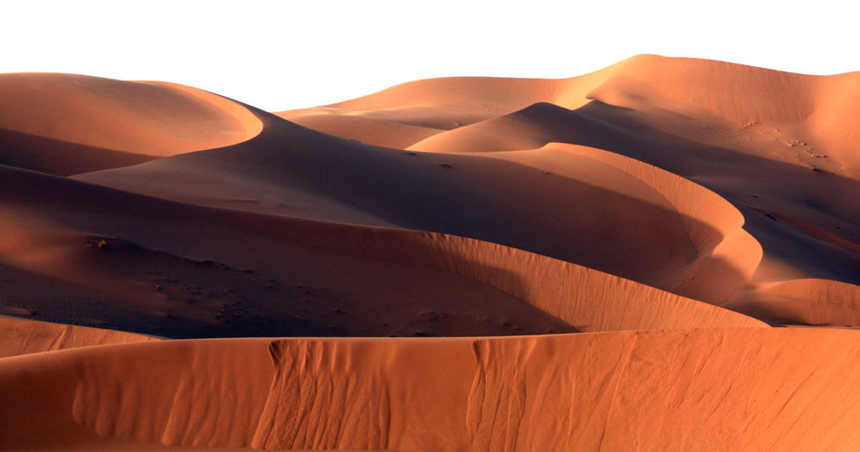Scenic View Of Sahara Desert Against Clear Sky