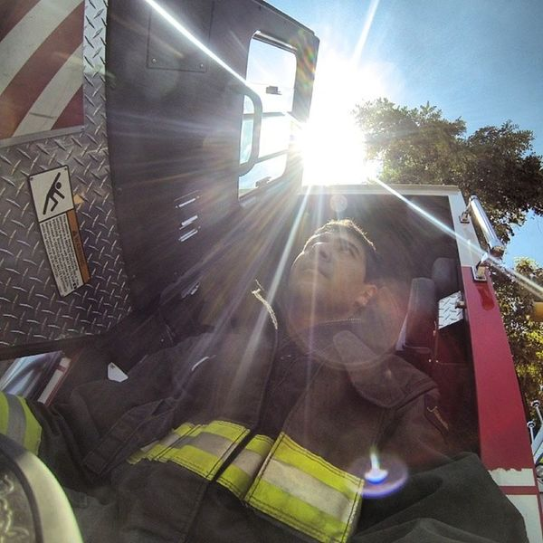Me Firefighter Bomberos Chile Gopro goodlife