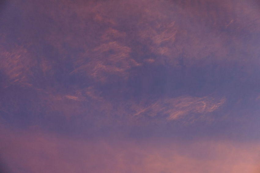 Clouds And Sky Nature Beauty In Nature Astronomy Backgrounds Blue Sunset Sky Only Full Frame Colored Background Sky Cloud - Sky Cloudscape