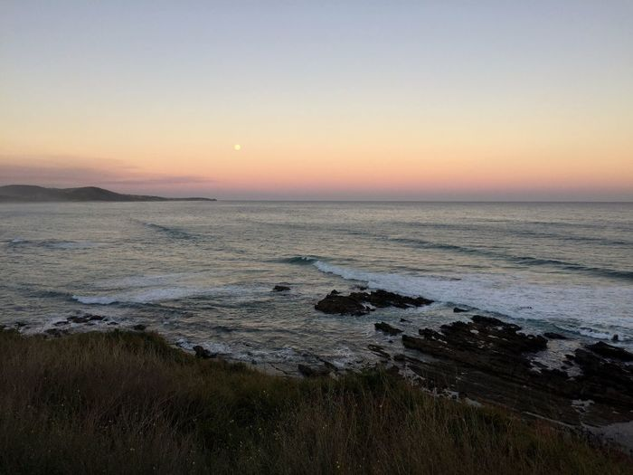 Sunset / moonrise Sunset Sunset_collection Moon Rising Australia Landscape Nature Sea Sea And Sky Travel Travel Photography