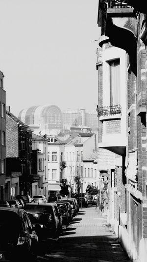Brussel Bruxelles Blackandwhite Europaparlament Old Buildings