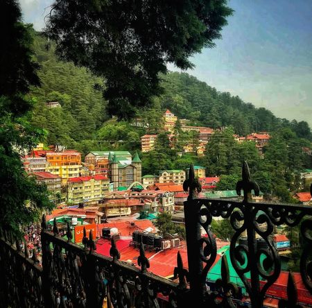Beautiful Hill Town😍 Town Hill Sky Indian Architecture Beautiful Tree Plant Architecture Built Structure Nature Building Exterior Day Green Color Railing Outdoors Sky No People Building History Residential District City Growth Connection Mountain #urbanana: The Urban Playground