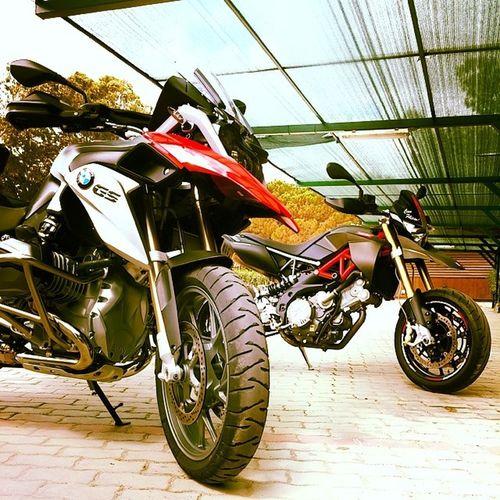 Bmw Aprilia Dorsoduro750factory Dorsoduro750 r1200gs GS 1200 750 road bike drive carbon red sun