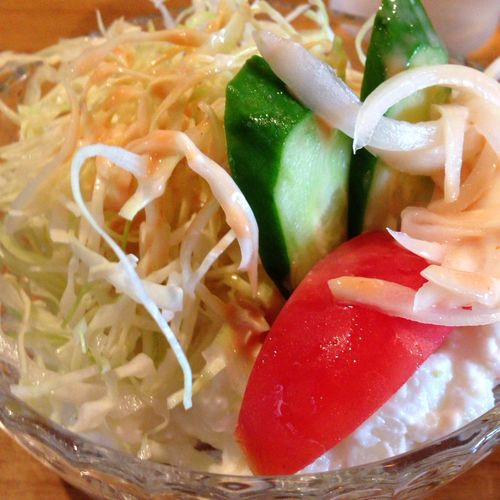 Food Porn Lunch Carry Salad 付け合わせのサラダで口休め(^^;;