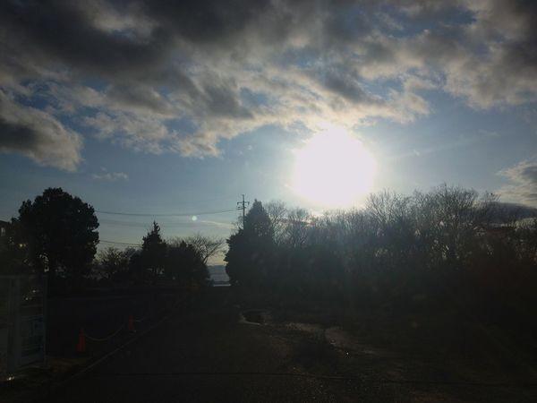 Japan Road Sky Sun Sun Sky Variation Cloud - Sky Trees Sunshine Sky Sunlight No People