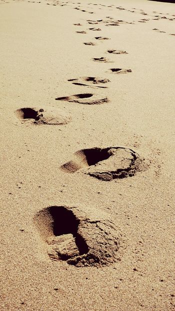 The Footprints on the Sand