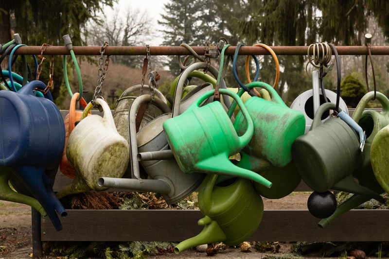 watering cans /