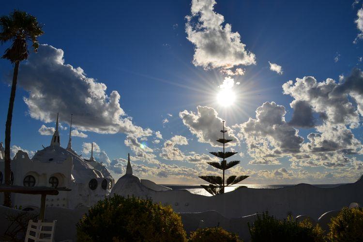 Casapueblo Clouds And Sky Punta Ballena Sky Sunset