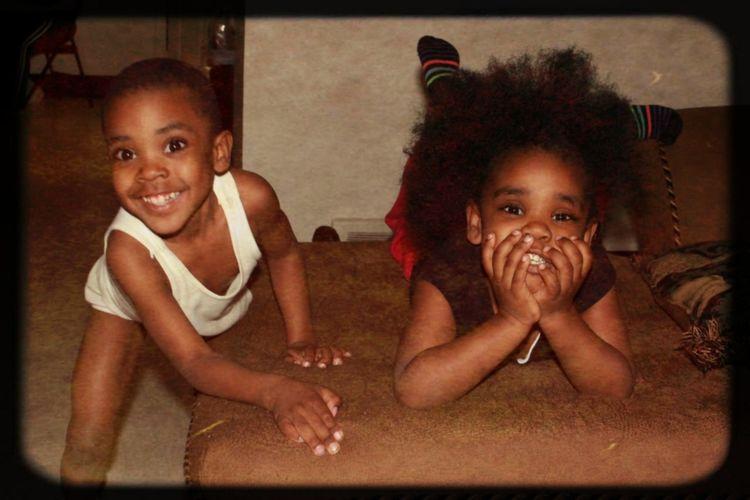 Black Children Childhood Children Happiness Looking At Camera Mphotography Niecesandnephews Portrait Taking Photos Togetherness