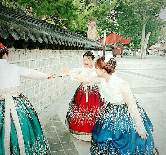 무궁화 꽃이 피었습니다🌸 Happiness Enjoyment Vacations Smiling The Roses Of Sharon Have Blossomed Traditional Korean Village