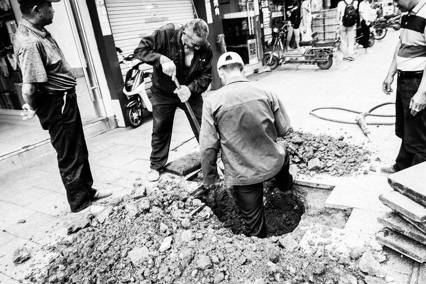 Suzhou, China Black And White Streetphotography