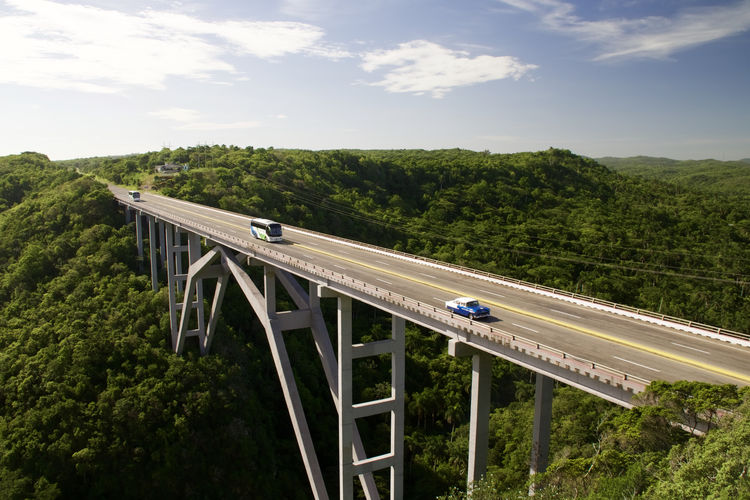 Architecture Bridge Bridge - Man Made Structure City Cuba Growth Road Transportation Lost In The Landscape