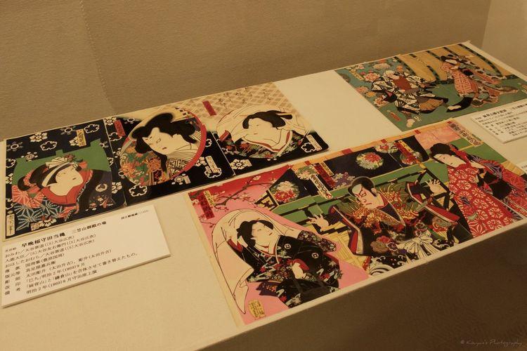 Nationaltheatre WatchingKabuki Kabuki Fujifilm_xseries FUJIFILM X-T1 XF 18-135mm/f3.5-5.6 WR Musium Kabuki Musium