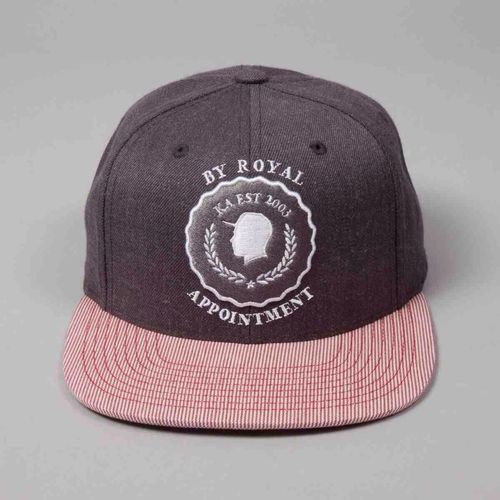 King Apparel Grey Seal Strapback www.designertop2bottom.com King Apparel Hot Swag Strapback
