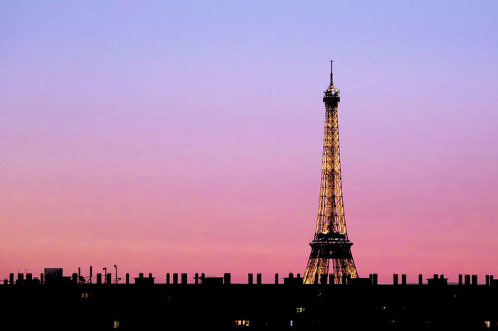 Paris J'Adore ! Eiffel Tower Fashion France Paris Pink Tour Eiffel Architecture Beautifulsky Eiffel_tower  Eiffeltower Frenchphotographer Landscape Loves_france Loves_paris Mybeautifulparis No People OnlyinParis Parisjetaime Roofofparis Roofoftops Silhouette Sunrise Sunset Sunsetlover Tower