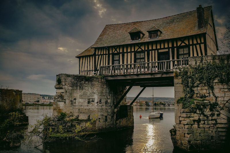 Old mill in Vernon France Mill Moulins Medieval Architecture France France Photos Le Vieux Moulin Normandie Normandie, France Normandy Heritage