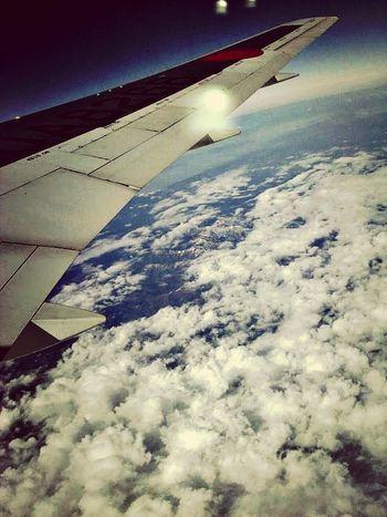 飛行機! Japan Sky Beautiful