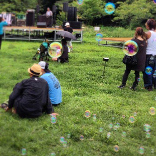Live Bubbles Summer Enjoying Life