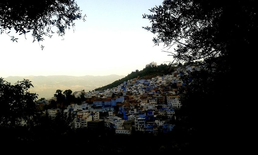 Chefchaoun, Morroco Blanck Chefchaouen Blue Mountain City Water