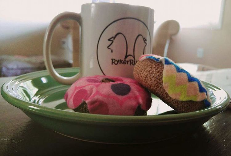My Favorite Breakfast Moment Coffee Dogtoys Incognito Donuts Doglifestyle Morningplaytime Ilovemydogs