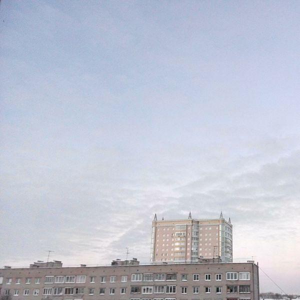 Russia Kirov Sky Buildings Soft Light