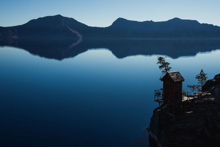 Water Reflection Lake Beauty In Nature Tranquility Scenics - Nature Idyllic No People Outdoors Crater