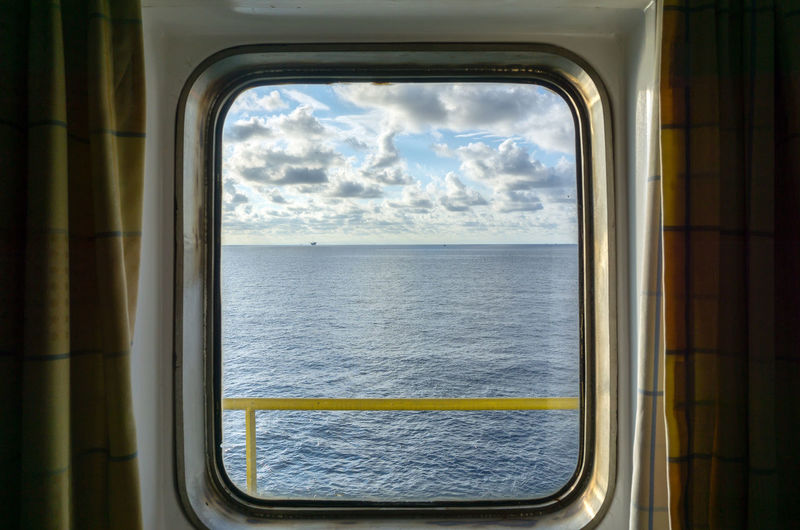 window of opportunity Wave Ocean Offshore Life Upstream Blue Offshore Oil And Gas Petroleum Platform Industry Cloud Cloudy Horizon Glass Looking Looking Through Window Sky Close-up Cloud - Sky