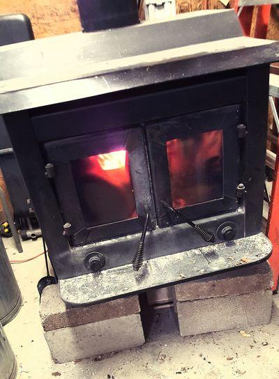 Heat - Temperature Fire Woodburning Stove