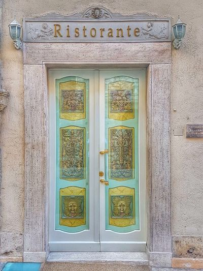 Door Entrance Architecture Ornate Doorway Built Structure No People Travel Destinations Building Exterior Italy Assisi Restaurant The Week On EyeEm