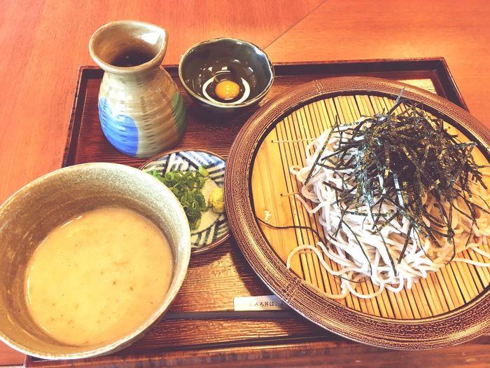つけとろろそば Food HighwaySA Soba Yummy! Japanese Food