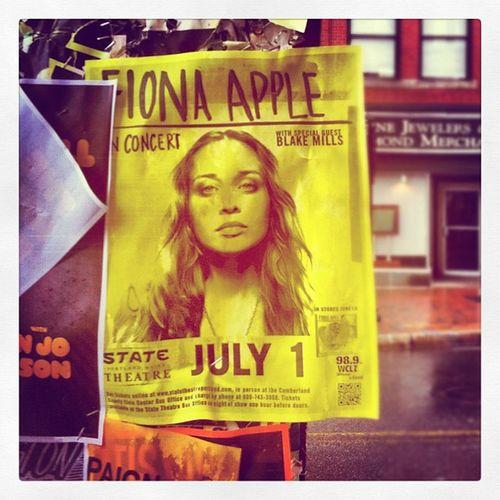 Tonight's the night! #fionaapple 10likes Fionaapple