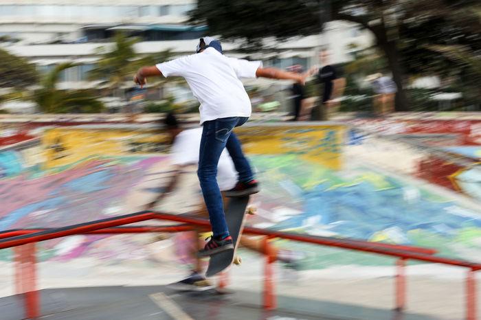 Skateboarding Activity Durban South Africa Lifestyles Motion Motion Blur Skate Skateboarding Skatelife Sommergefühle Trick