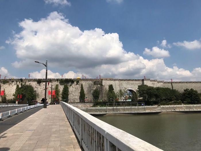 城墙 Cloud - Sky Sky Built Structure Architecture Nature Water Transportation