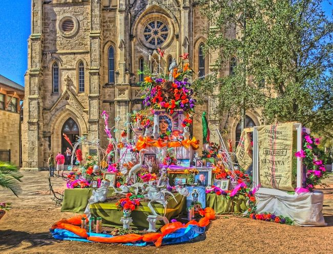 Diademuertos Hdr_Collection Church San Antonio