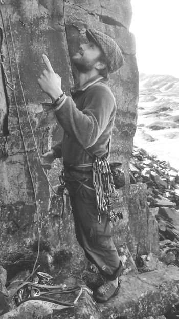 Sometimes the old school is the way forward Climbing Rock Climbing Old School Crag North Wales Sunny Adventures Friends