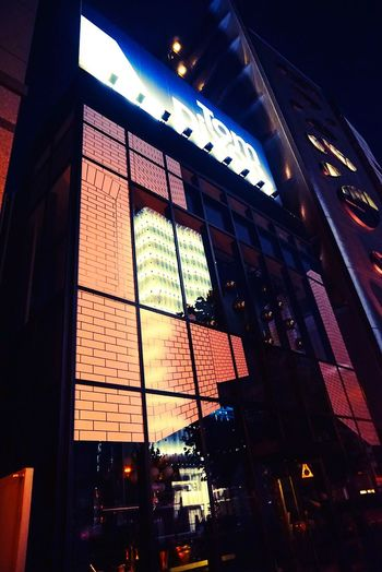 Creative Light And Shadow STLSQA Tokyo Tokyo,Japan Architecture Reflection Midnight In Tokyo