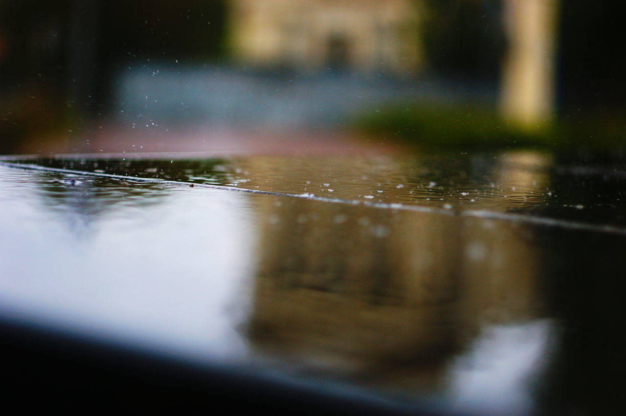 FULL FRAME SHOT OF WATER IN SURFACE