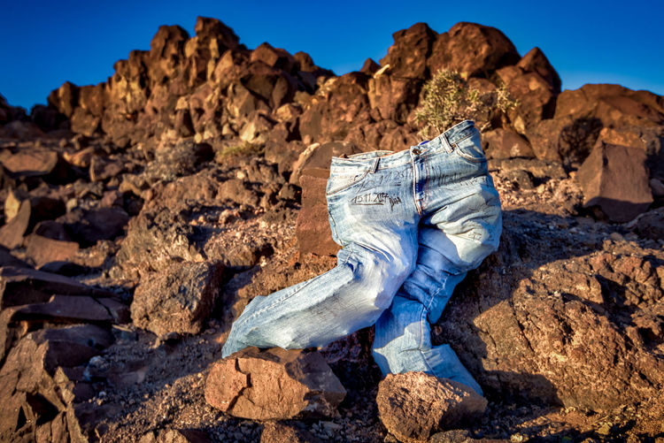 Art is Everywhere ArtWork Clear Sky Fuerteventura Jeans Art Beauty In Nature Blue Day Nature No People Outdoors Rock - Object Sky Sunlight Travel Destinations