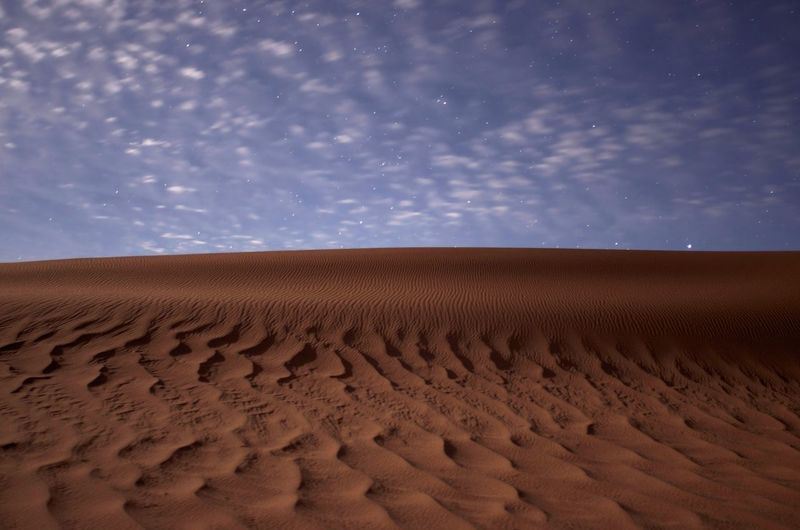 Arid Climate Beauty In Nature Climate Cloud - Sky Desert Environment Horizon Horizon Over Land Land Landscape Nature No People Non-urban Scene Outdoors Remote Sand Sand Dune Scenics - Nature Sky Tranquil Scene Tranquility