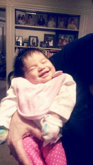 Smile Dimples  Baby Niece Beautiful Love