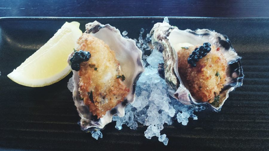 Fried Oysters Cooked Oysters oysters Oysters On The Half Shell Oyster Time Food And Drink Food