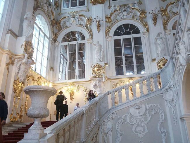 Russia Spb St. Petersburg, Russia Beauty Gold Colored Elegant Architecture Architectural Column White Color